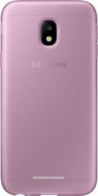 Θήκη Back Cover Samsung J3 (2017) J330 EF-AJ330TPEGWW Pink Original