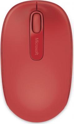 Ποντίκι Microsoft Wireless 1850 Red