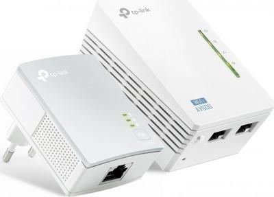 Powerline TP-Link 500Mbps Wi-Fi TL-WPA4220KIT v3 (2Τμχ)