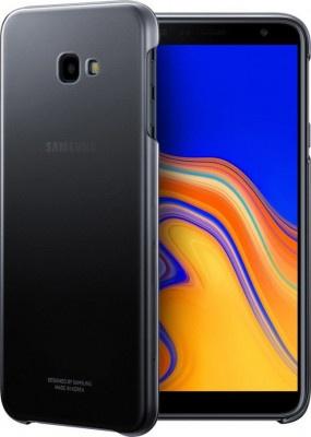 Θήκη Back Cover Samsung J4+ J415 Gradation EF-AJ415CBEGWW Black Original