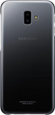 Case Back Cover Samsung J6+ J610 Gradation EF-AJ610CBEGWW Black Original