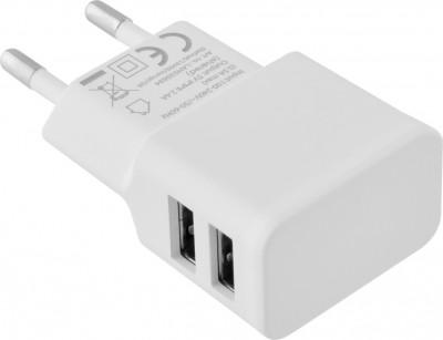 Φορτιστής Ταξιδίου Lamtech 2 USB X 2.4A