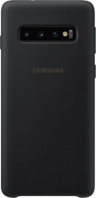 Case Back Cover Samsung S10 G973 Silicone Cover EF-PG973TBEGWW Black Original
