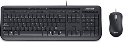 Keyboard & Mouse Microsoft Wired 600 Black GR
