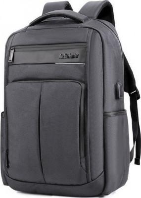 Τσάντα Backpack Artic Hunter B00121C-GY USB Γκρι Αδιάβροχη