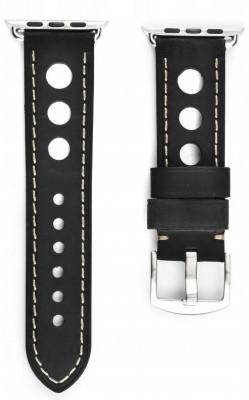 Leather Strap Apple iWatch 42 / 44mm Black