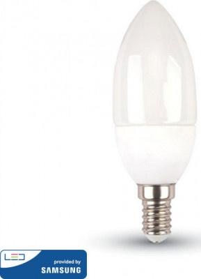 Lamp Led V-TAC Samsung E14 Κεράκι 5.5W VT-226 4000K