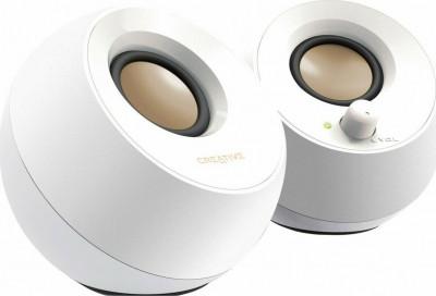 Speakers Creative 2.0 Pebble White
