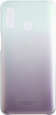 Θήκη Back Cover Samsung A40 A405 Gradation Cover EF-AA405CBEGWW Black Original