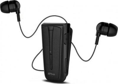 Headset Bluetooth iPro RH219s Retractable Black