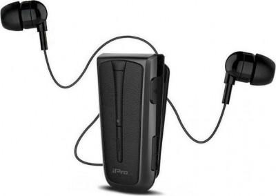 Headset Bluetooth iPro RH219s Retractable Black-Grey