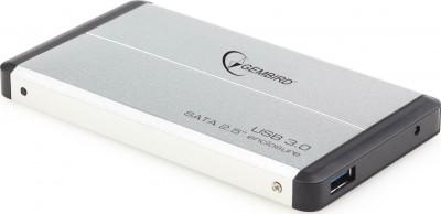 """Θήκη Εξωτερικού Δίσκου Germbird 2.5"""" EE2-U3S-2-S Silver"""