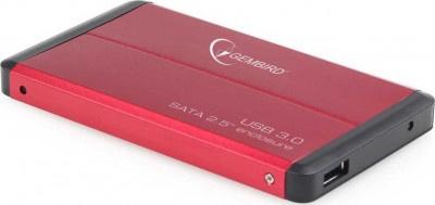 """Θήκη Εξωτερικού Δίσκου Germbird 2.5"""" EE2-U3S-2-R Red"""