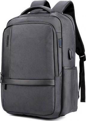 Τσάντα Backpack Artic Hunter B00120C-GY Γκρι Αδιάβροχη