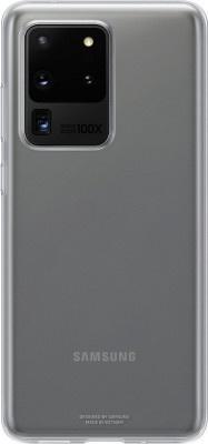 Θήκη Back Cover Samsung S20 Ultra G988 EF-QG988TTEGEU Transparent Original