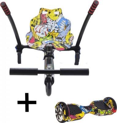 Σετ Ηλεκτρικό Πατίνι Urbanglide Hoverboard 65 Lite Multicolor & Kart Pilot