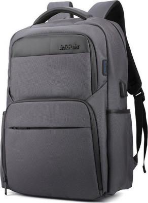 Τσάντα Backpack Artic Hunter B00113C-GY USB Γκρι