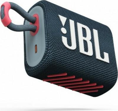 Ηχείο Bluetooth JBL Go 3 Blue-Pink