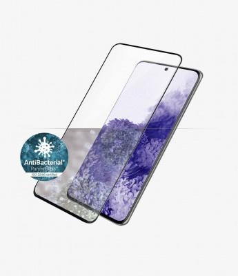 Screen Protector Glass Panzerglass Samsung Galaxy S21 Ultra G998 CF AB Curved Edges Black