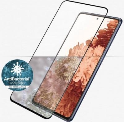 Screen Protector Glass Panzerglass Samsung Galaxy S21+ G996 CF AB Edge-to-Edge Black