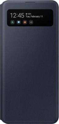 Case Flip Samsung Galaxy A42 A426 S View Wallet EF-EA426PBEGEW Black Original