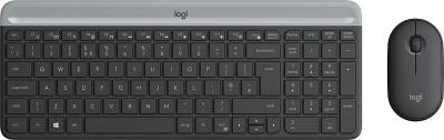 Keyboard & Mouse Logitech Wireless MK470 Graphite