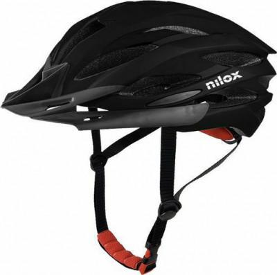 Helmet Nilox Adult Black Led Light