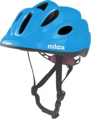 Helmet Nilox Kid Blue Led Light