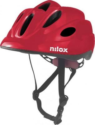 Helmet Nilox Kid Red Led Light