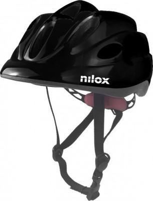 Helmet Nilox Kid Black Led Light