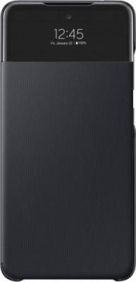 Case Flip Samsung Galaxy A52 A525 S View Wallet EF-EA525PBEGEW Black Original