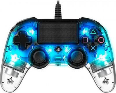 Controller Nacon PS4 Crystal Blue