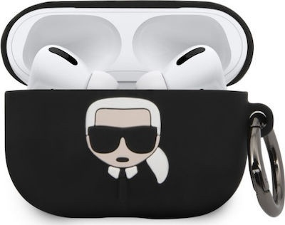Case for Airpods Pro Guess Karl Lagerfeld Black Original