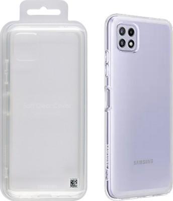 Case Face Samsung Galaxy A22 5G Soft Clear Cover EF-QA226TTEGEU Transparent Original