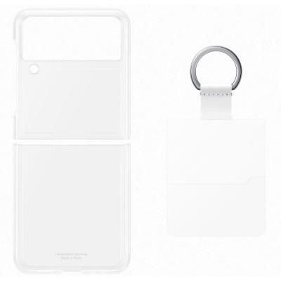 Case Samsung Flip 3 Ring Transparent EF-QF711CTEGWW