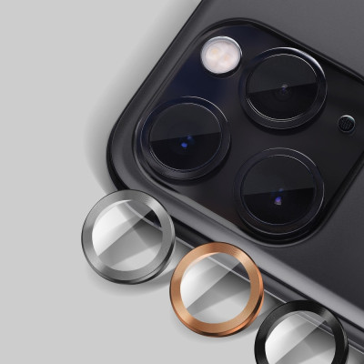 Camera Lenses Protector Glass Mr.Monkey for Apple iPhone 13 Pro/13 Pro Max 5D Armor Gold
