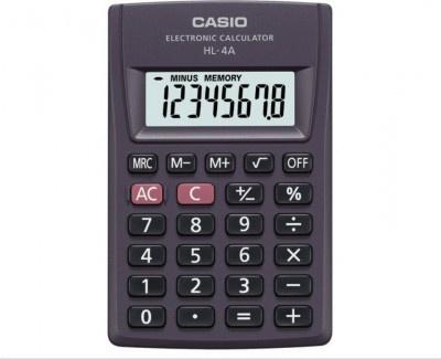 Αριθμομηχανή Casio BASIC HL-4 Black