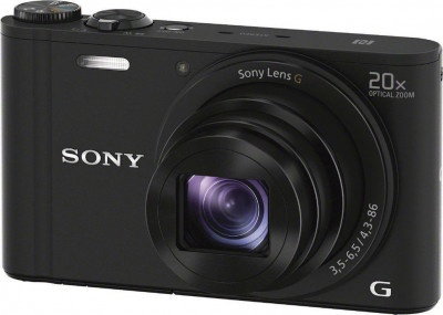 Camera Sony DSCWX350B Black