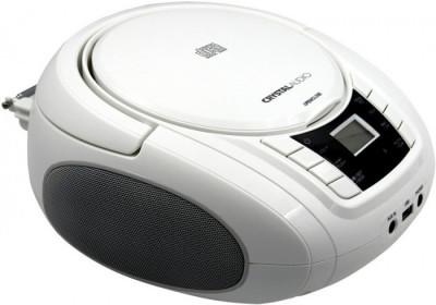 Φορητό Ράδιο CD Crystal Audio BMBU2W White