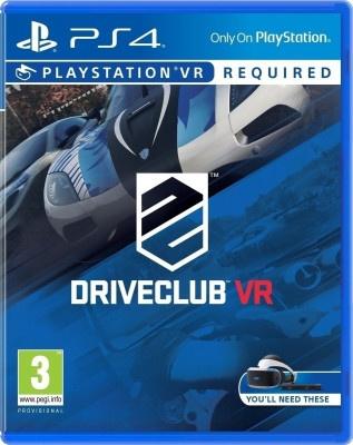 PS4 VR Drive Club