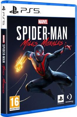 PS5 Marvel's Spiderman Miles Morales