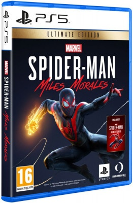 PS5 Marvel's Spiderman Ultimate Edition