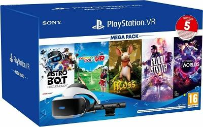 VR Headset Sony Playstation & Camera V2 & 5 παιχνίδια