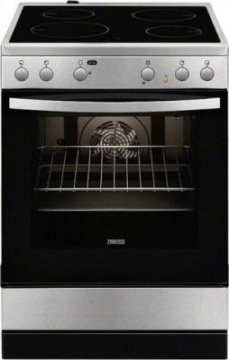 Ceramic Cooker Zanussi ZCV65020XA Inox