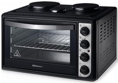 Mini Oven (3 hot plates) Rohnson MOD R-2148 Black
