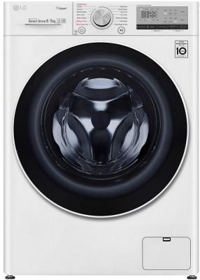 Washing Machine-Dryer LG 8-6Kg F4DV408S0E