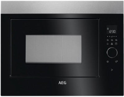 Φούρνος Μικροκυμάτων Εντοιχιζόμενος με Grill AEG 26Lt MBE2658DEM Inox-Black