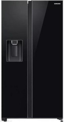 Ψυγείο Samsung 178x91 RS65R54422C Glass Black