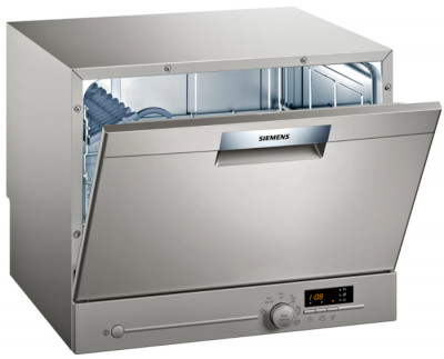 Πλυντήριο Πιάτων Siemens SK26E822EU Silver