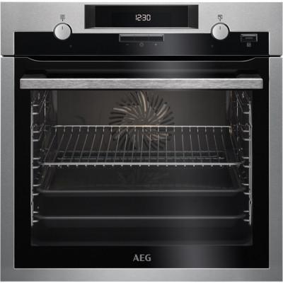 Φούρνος Εντοιχιζόμενος AEG BCE451350M Inox